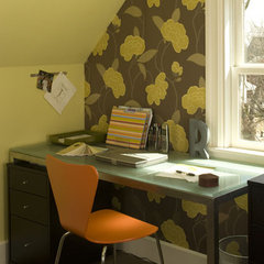 modern home office by Rachel Reider Interiors