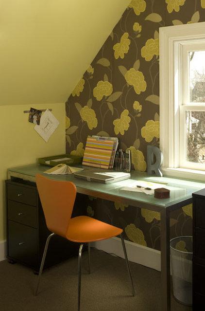 Modern Home Office by Rachel Reider Interiors