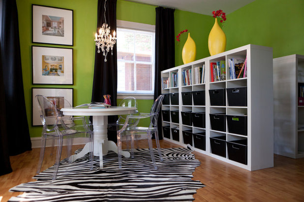 Contemporary Home Office by S&K Interiors and Home Staging