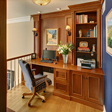 Traditional Home Office by Showcase Kitchen & Bath