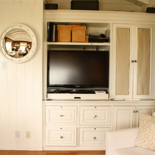 Example of a classic home office design in Santa Barbara