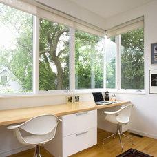 Modern Home Office by studiohw | Heather Weiss