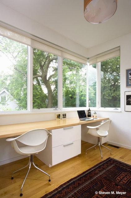 Modern Home Office by studiohw   Heather Weiss