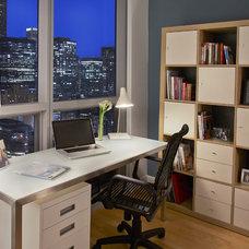 Modern Home Office by TZS Design