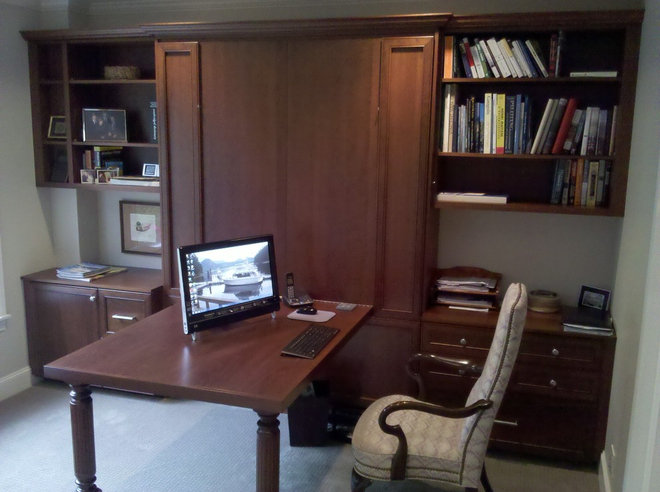 Traditional Home Office by Organized Spaces