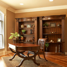 Traditional Home Office by O'Neal Builders, Inc.