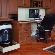 Traditional Home Office by Rylex Custom Cabinetry and Closets
