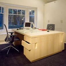 Modern Home Office by OJMR Architects