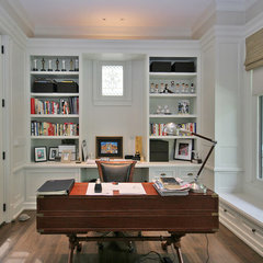 traditional home office by Tandem Architecture & Construction