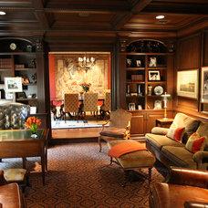 Traditional Home Office by Treby Spanedda Interiors