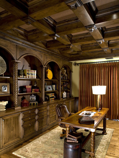 Old World Library Houzz