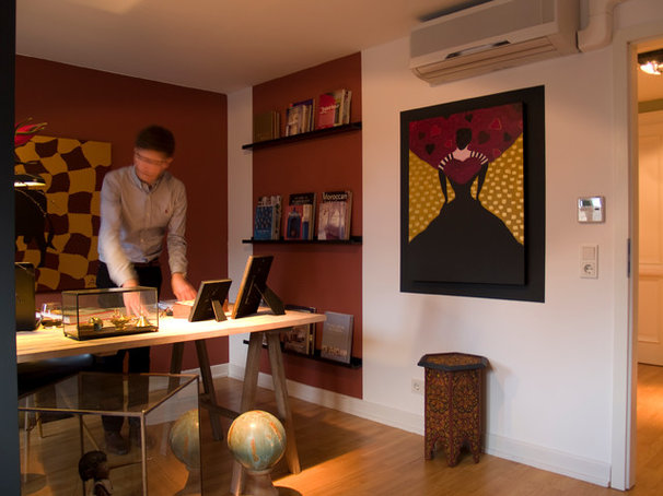 Eclectic Home Office by in3interieur