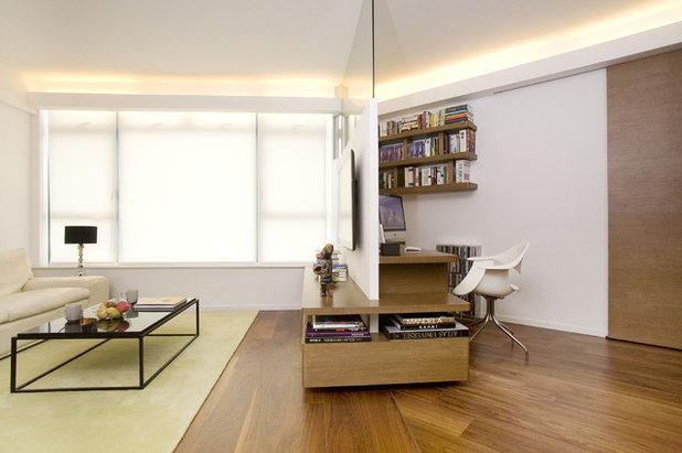 Contemporáneo Despacho by Clifton Leung Design Workshop - CLDW.com.hk