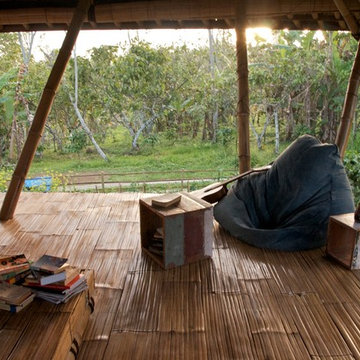 Open air living in the mountains of Bali