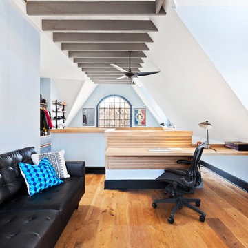 Open Studio Attic  Remodel