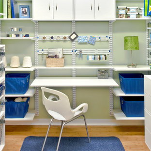 Inspiration for a contemporary home office remodel in Cincinnati