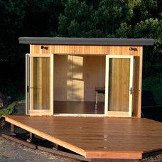 Modern Home Office by YardPods