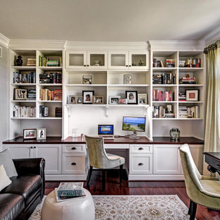 Our clients love the symmetrical design of the built-ins