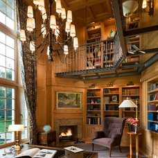 Traditional Home Office by The Berman Building Co.