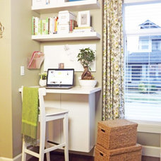 Contemporary Home Office Our Mini Manor