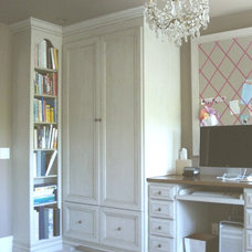 Traditional Home Office by Garcia Cabinetmakers