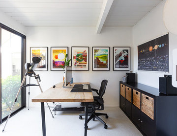 Outer Space Themed Office