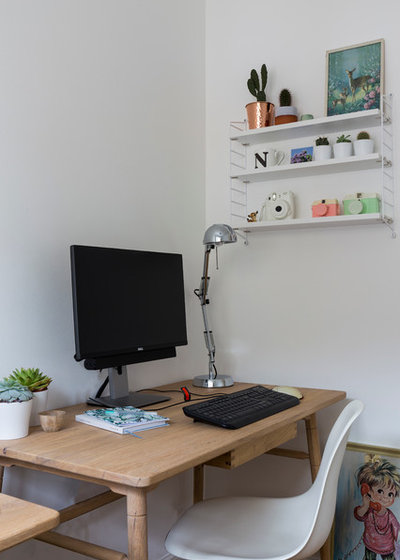 Contemporary Home Office & Library by Chris Snook