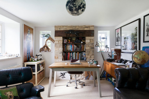 Home Office & Library by Chris Snook