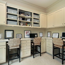 Traditional Home Office by Oxford Development