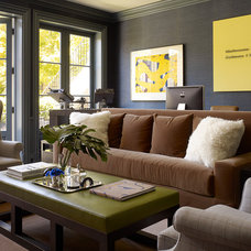 Contemporary Home Office by Ross Painting