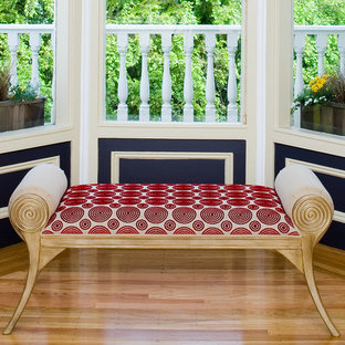Pacific Heights Pop - Custom bench by Kimball Starr Interior Design