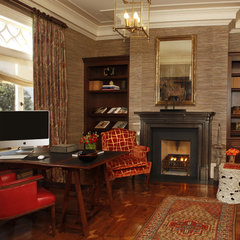 traditional home office by Gast Architects