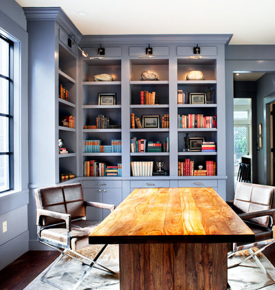 Transitional Home Office by Ian Stallings