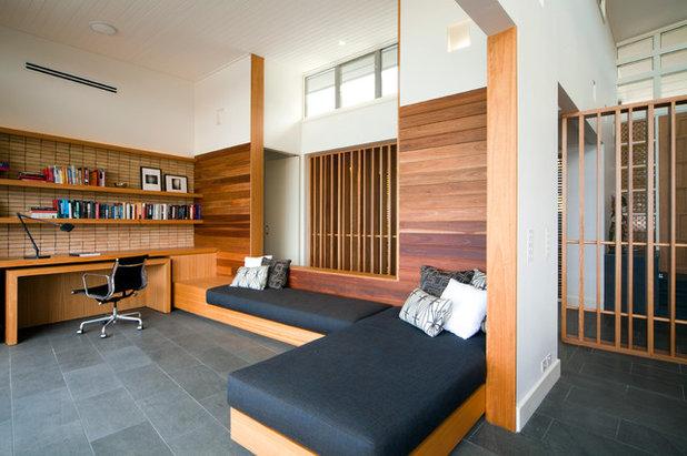 Trendy Hjemmekontor by justin long design