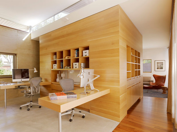 Modern Home Office by CCS ARCHITECTURE