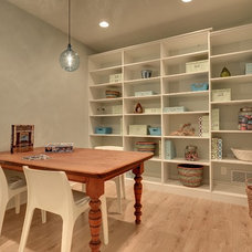 Contemporary Home Office by Great Neighborhood Homes