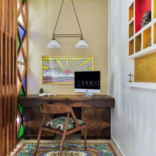 Inspiration för ett tropiskt arbetsrum
