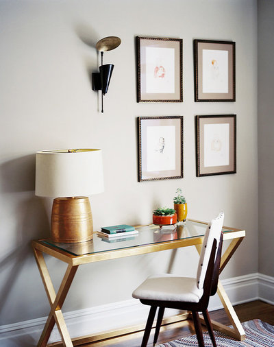 Contemporary Home Office by danielle colding design, inc.