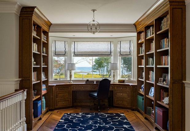 Traditional Home Office by Thomas & Lord