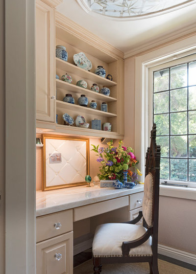 Transitional Home Office by Carolyn Reyes