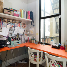 Eclectic Home Office by Hudson Place Realty