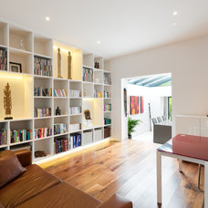 Contemporary Family Room by Granit Chartered Architects