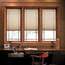 Contemporary Home Office by Pella Windows and Doors