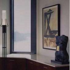 Contemporary Home Office by Emery & Associates Interior Design