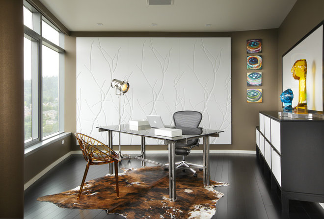 Modern Home Office by Faith Cosgrove (TSRG)