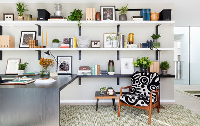 Turn to the Wall for Space-Saving Storage
