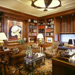 traditional home office by Peter S. Balsam Associates