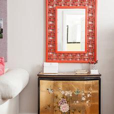 Asian Home Office by Caitlin Wilson