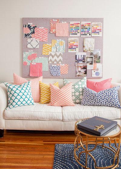 Eklektisch Arbeitszimmer by Caitlin Wilson Design