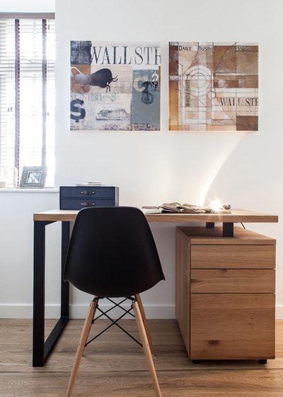 Contemporain Bureau à domicile by Adelina Iliev Photography